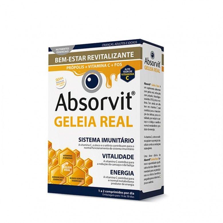 Absorvit Geleia Real 30 Comprimidos