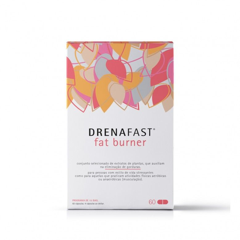 Drenafast Fat Burner 60 cápsulas