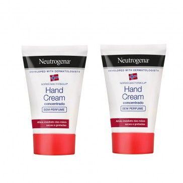 Neutrogena Creme de Mãos Sem Perfume 2x50ml