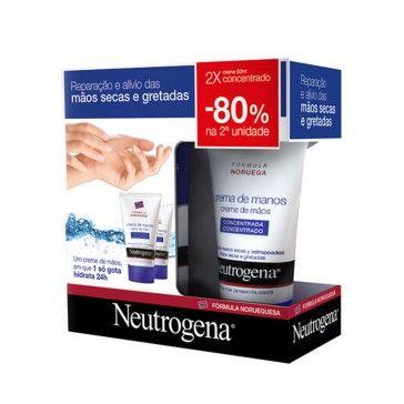 Neutrogena Creme de Mãos 2x50ml