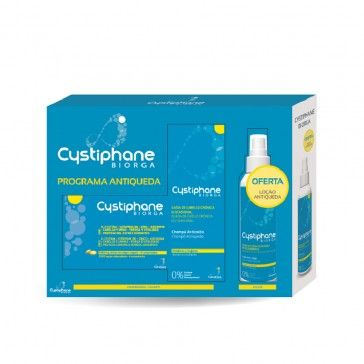 Cystiphane 120 Comprimidos + Champô 200ml + Loção 125ml