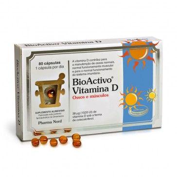 BioActivo Vitamina D 80 Cápsulas